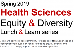 lunch and learn spring 2019