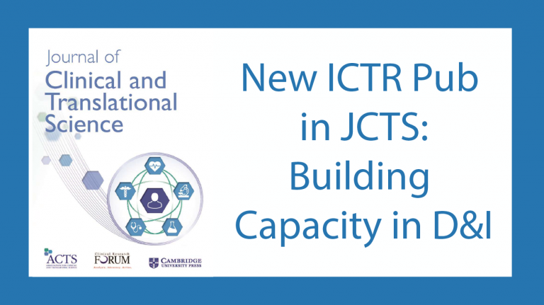 Dissemination and Implementation JCTS publication
