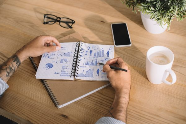 Planning in a notebook